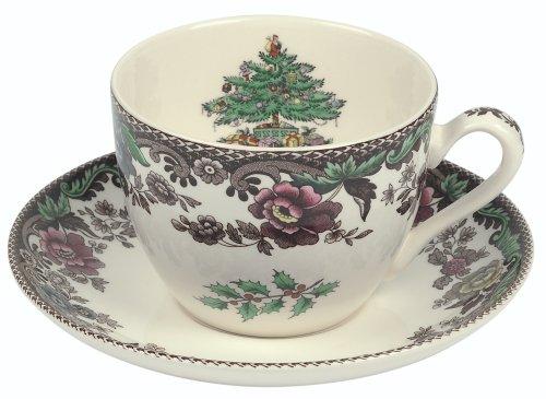Spode Christmas Tree Grove 5-1/2 Inch Tea Saucer