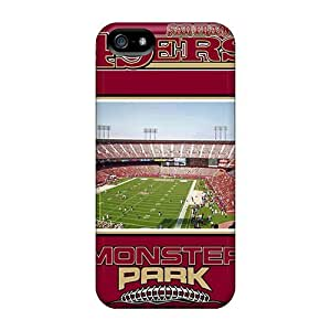 Rugged Skin Case Cover For Iphone 5/5s- Eco-friendly Packaging(san Francisco 49ers) BY icecream design