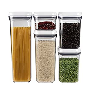 Amazon Com Oxo Good Grips 5 Piece Airtight Pop Container