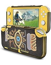 DLseego Skyddande fodral för Switch Lite of Zelda Breath of the Wild,hård PC stötdämpning och anti-repor design, tillbehör för Switch Lite