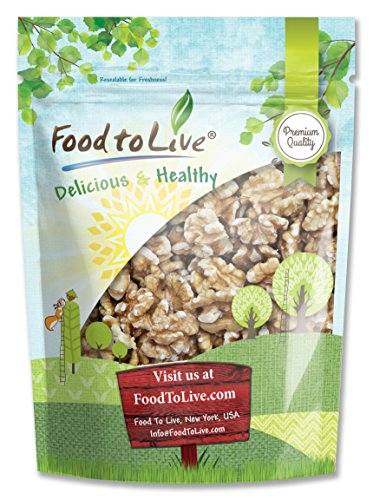 Food To Live Walnuts (Raw, No Shell) (8 Ounces)