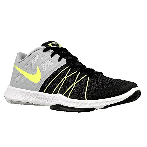 Nike Men's Zoom Train Incredibly Fast Training Shoe Black/Volt/Anthracite/Wolf Grey Size 10 M US