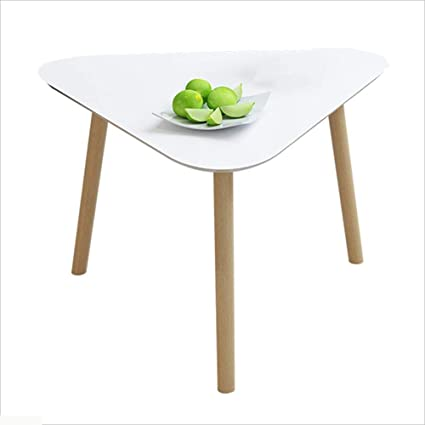buy online 060c3 96bb8 Amazon.com: Axdwfd Coffee Table Solid Wood Triangle Sofa ...