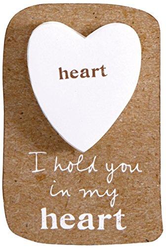 Affirmation Heart Charm - 7