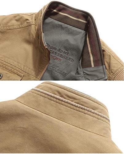 Jacket In 98 Esterno Tasche Asciugatura Off Molte Outdoor Traspirante Good Khaki Rapida Con Ad Gilet Uomo Multifunction Sportivo Da UqxfH4w78g