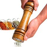 Best Mill Shakers For Salts - SHP Manual Kitchen Wooden Pepper Mill spice grinder Review
