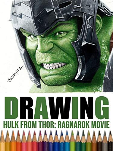 Clip: Drawing Hulk from Thor: Ragnarok Movie