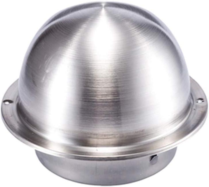 ventilaci/ón cocina etc. para techo para oficina ba/ño Cubierta de conducto de acero inoxidable de 100 mm//150 mm de di/ámetro redonda