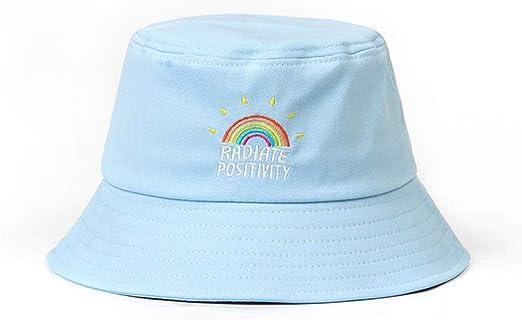 embroidery bucket hat for men women hip hop fisherman hat flat hat new.