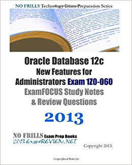 Oracle Database 12c New Features for Administrators Exam 1Z0-060