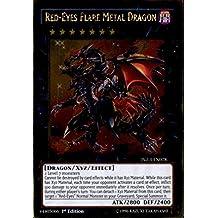 Yu-Gi-Oh! - Red-Eyes Flare Metal Dragon (PGL3-EN078) - Premium Gold: Infinite Gold - Edition by Yu-Gi-Oh!