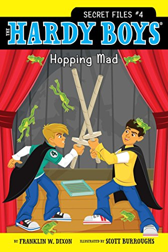 Hopping Mad (The Hardy Boys: Secret Files series Book 4)