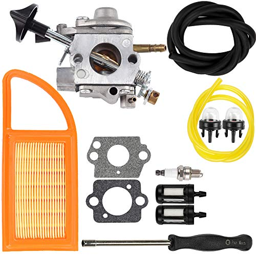 Dalom BR 600 Carburetor Air Filter Fuel Carb Repower Kit for Stihl BR500 BR550 BR600 Backpack Blower Leaf Blower Parts Replaces Zama C1Q-S183 4282-120-0606 4282-120-0607 4282-120-0608 (Br 600 Carburetor)