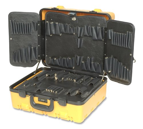 495 Spc 9 Inch Yellow Roto-Rugged Tool Case W/ Wing Pallet, Spc95Y (Pallet Wing Tool)