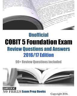 Cobit 5 Foundation Study Guide Pdf