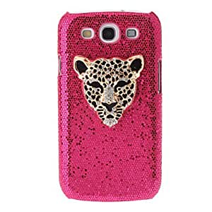 JAJAY-ships in 48 hours sold out Leopard Panther Rhinestone Pattern Hard Back Case Covers for samsung Galaxy S3 I9300