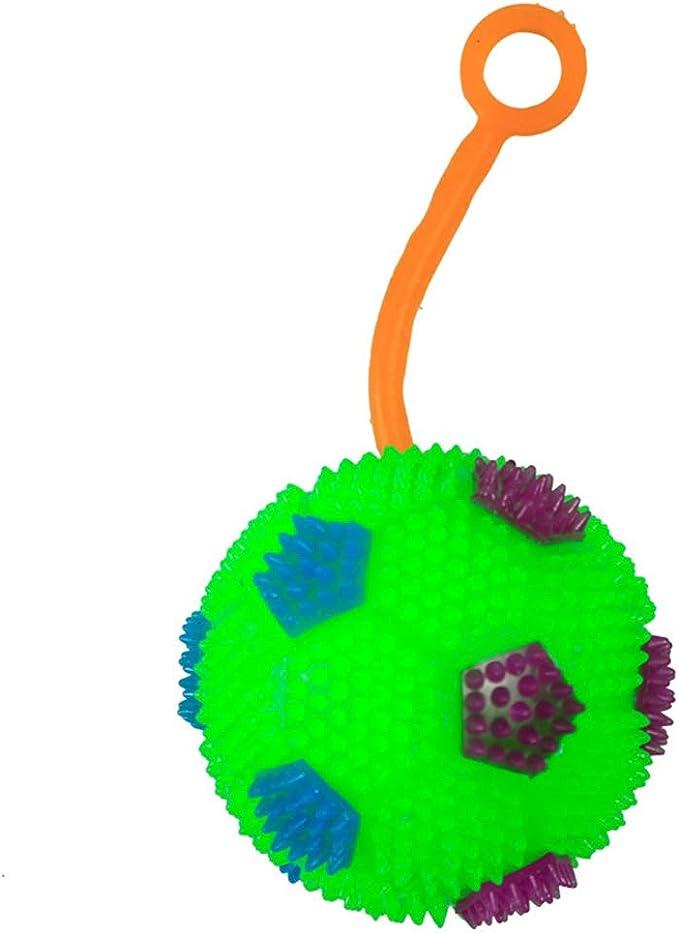 XuBa Pelota con luz LED Intermitente con Forma de balón de fútbol ...