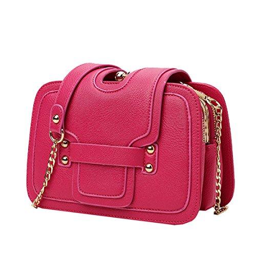 Yy.f Bolsa De Fiesta Informal Joven Nueva Moda Bolsos De Lujo Damas De La Moda Cartera Móvil 3 Colores Red