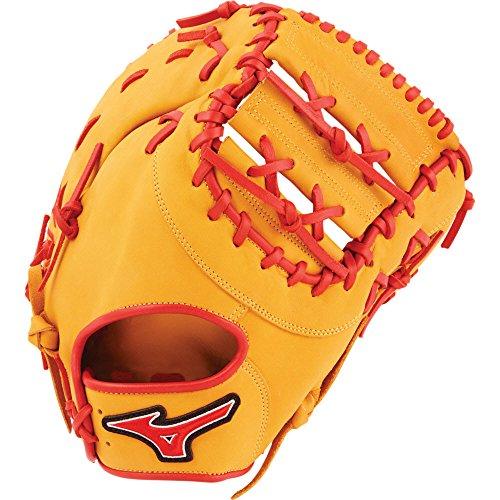 - Mizuno MVP Prime GXF50PSE6 First Base Baseball Mitts, Size 12.5, Cork Red