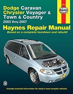 2003 dodge grand caravan owners manual