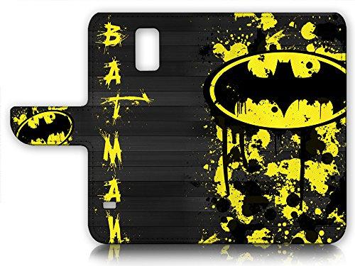 Samsung Galaxy S5 Flip Wallet Case Cover & Screen Protector Bundle! A6240 Batman at Gotham City Store