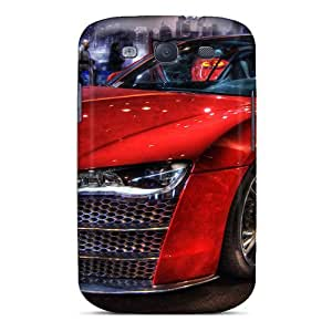 High Quality Shock Absorbing Case For Galaxy S3-audi