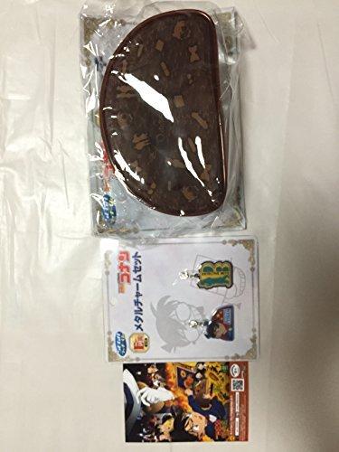 Sunflower print characters amide + SEGA SEGA lucky lottery Conan? Conan VS Kaito Kid? D Award pouch E Award Metal Charm set Edogawa Conan bromide porch Charm 3-point DE of Seven-Eleven limited Detective Conan Fire (Set Kaito)