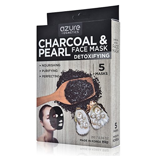 Charcoal and Pearl Detoxifying Face Mask by Azure - Deep Cle
