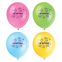 "12"" Latex Shopkins Balloons, 8ct"