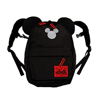 fbebd10cf65a ミッキー マウス 型 子供 用 リュック (黒) バッグ バック 鞄 かばん ( 東京 ディズニー