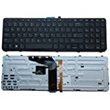 New Laptop Keyboard (with mouse point) compatible HP ZBook 15 G1 G2 ZBook 17 G1 G2 PK130TK2A00 MP-12P23USJ698W PK130TK2B00 MP-13M33US6698 745663-001 PK130TK1B00 SG-59410-XUA US layout Black color
