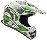 gear motocross - Vega Helmets VRX Advanced Off Road Motocross Dirt Bike Helmet (Green Venom Graphic, Large)