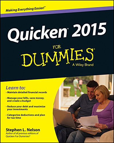 Quicken 2015 For Dummies (Quicken Deluxe 2019 Best Price)