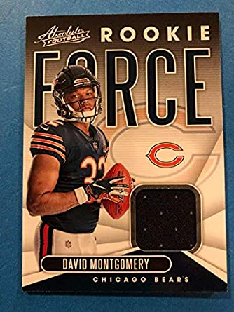 best sneakers 4513c a57f0 Amazon.com: 2019 Absolute Football Rookie Force Relics #6 ...