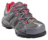 Athletic Style Work Shoes, Wmn, 9M, Gray, PR