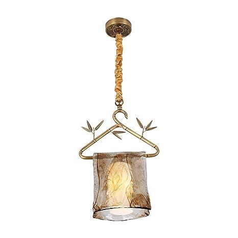 Nueva Lámpara De Cobre Zen De Estilo Chino Lámparas De ...