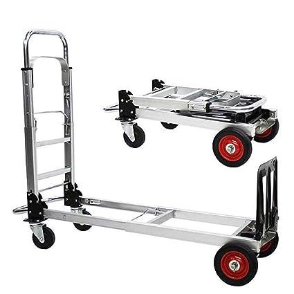 Camiones Plegables Para Trabajo Pesado, Camiones Con Plataforma, Aleación De Aluminio, Bandeja Engrosada