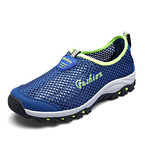 Blue da Uomo per e Fashion Cricket Hollow Scarpe Sneaker Donna Heel Flat wqFPfP