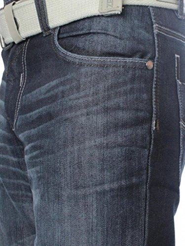 Coupe Ez15 darkwash Jeans Homme Blue Ample Enzo 6BnPgxUwqx