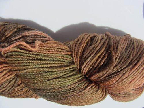- Ella Rae Lace Merino DK Hand Dyed Yarn Color 108 Browns, Green