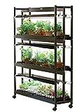 Gardener's Supply Company Indoor Grow Light, 3-Tier