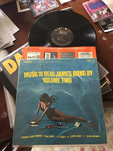 Original album cover of Music To Read James Bond By, Volume Two by James Bond themes