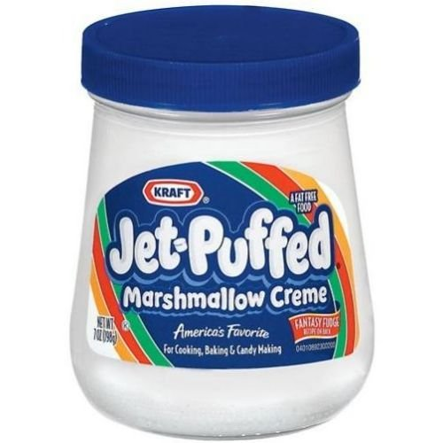 Jet-Puffed Marshmallow Creme - 13 oz. jar, 12 per case
