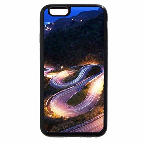 iPhone 6S / iPhone 6 Case (Black) Curvy Destination.