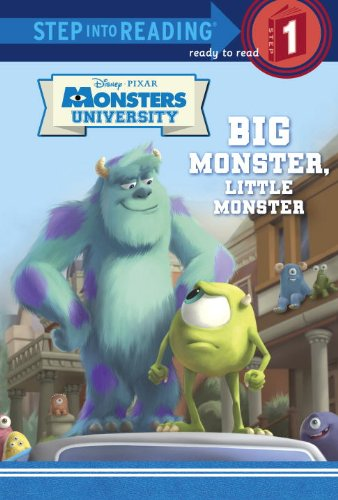 Big Monster, Little Monster (Disney/Pixar Monsters University) (Step into Reading) ebook