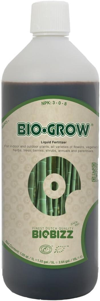 BioBizz Bio Grow Fertilizante aditivo Feeds orgánico Fertilizante líquido