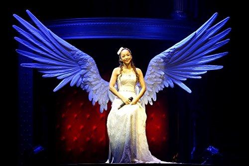 翼をつけた安室奈美恵さん