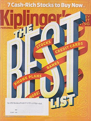 Kiplinger's December 2015 The Best List: Stocks, Credit Cards, Banks, and more