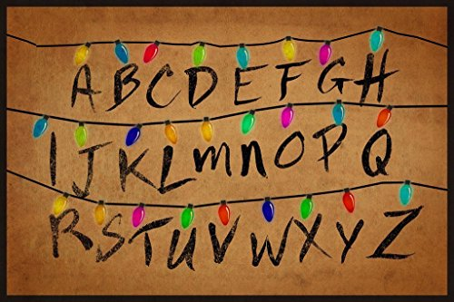 Best stranger things alphabet wall for 2019