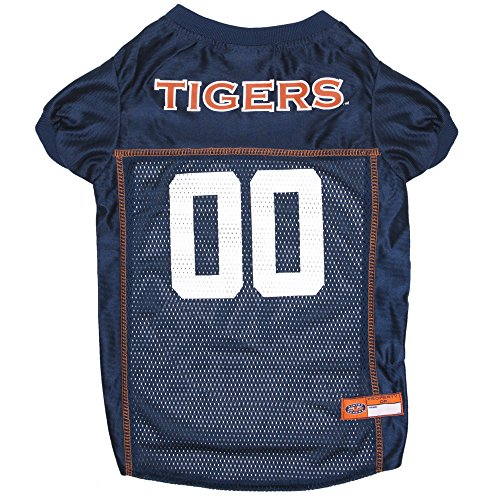 Pets First NCAA AUBURN TIGERS DOG Jersey, XX-Large by Pets First
